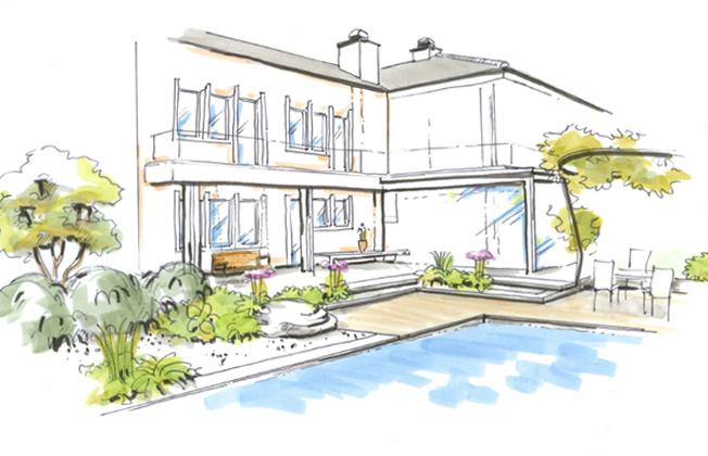 Der Alte Garten Sollte Aufgepeppt Werden Und Unterschiedliche  Nutzungsmöglichkeiten ...