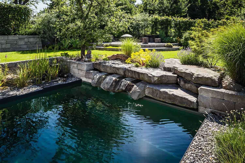 Astounding Pool Gestalten Foto Von Das Baden In Diesem Naturpool Ist Wie