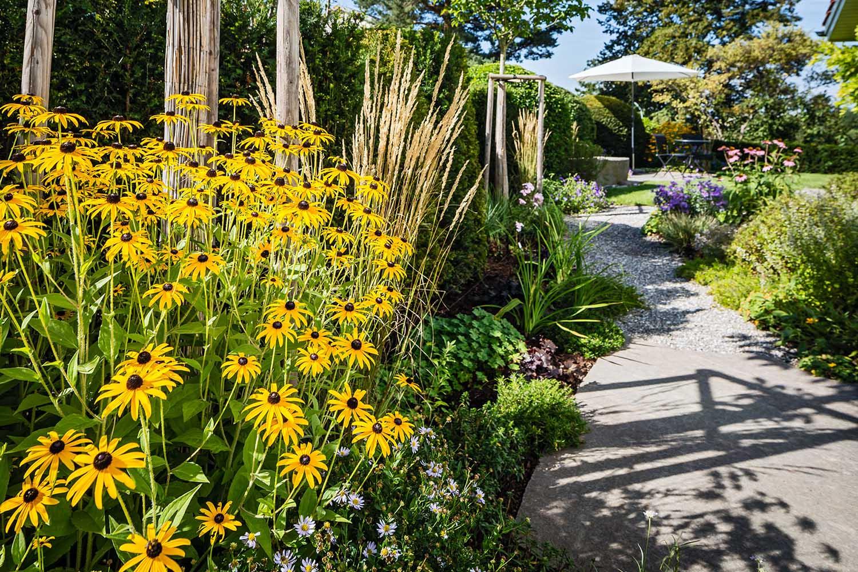 Gartengestaltung Pflanzungen Pflanzen und